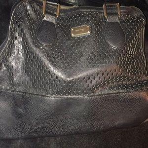 Large black pocketbook
